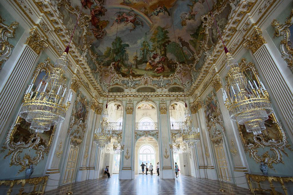 interior of nymphenburg palace interior of the steinerner flickr. Black Bedroom Furniture Sets. Home Design Ideas