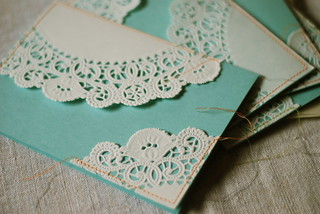 Doily Cards | by paperdaystudio : Art Wall