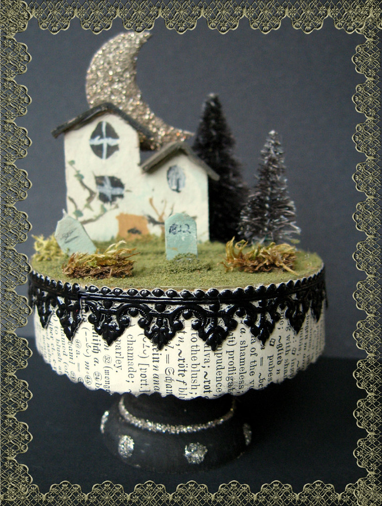 Haunted Cottage Cupcake Kit Joli Paquet Blogspot Com