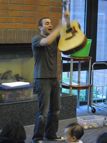 Dylan Donkin Toddler Dance Party @ The Millbrae Library | by San Mateo County Libraries