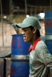 Fishmonger - - Chanh Hung Night Fish Market. Ho Chi Min City/Saigon | by The Hungry Cyclist