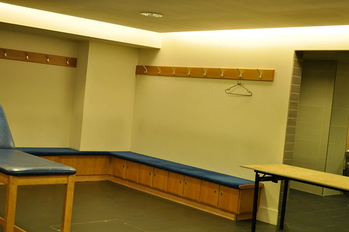 Anfield Changing Rooms
