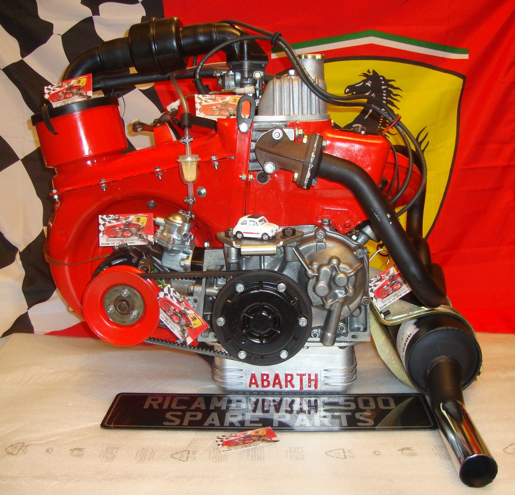 Fiat 500 Engine From Ricambi Fiat 500 Spare Parts Flickr