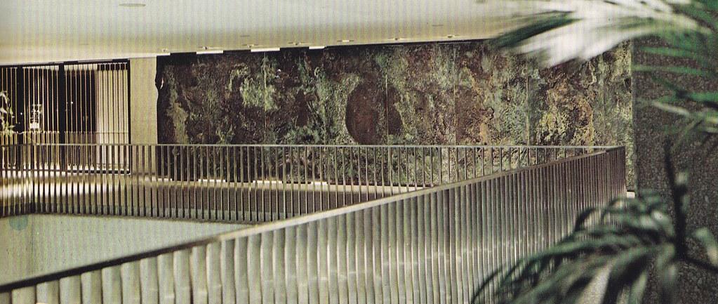 Resultado de imagen de bertoia lobby sculpture auditorium michigan
