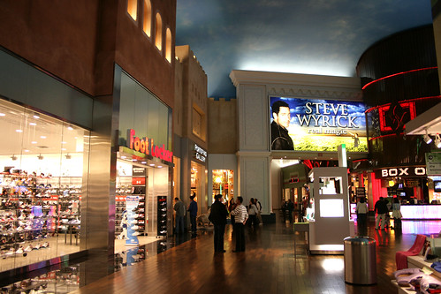 Miracle Mile Shops Las Vegas Nevada Usa Miracle Mile
