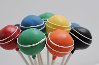 croquet ball pops | by Sweet Lauren Cakes