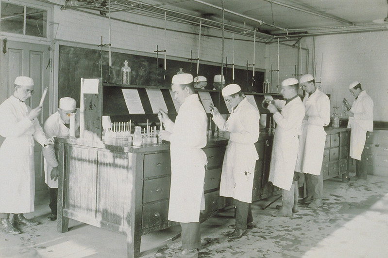 Milk Testing, Connecticut Agricultural College