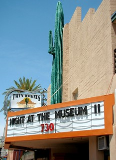 AZ, Wickenburg-U.S. 60 Saguaro Theater Marquee | by Alan C of Marion,IN