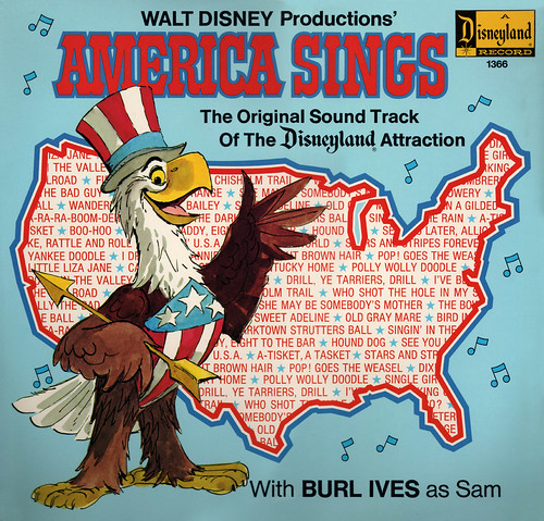 "Disneyland Record ""America Sings"" 1974 