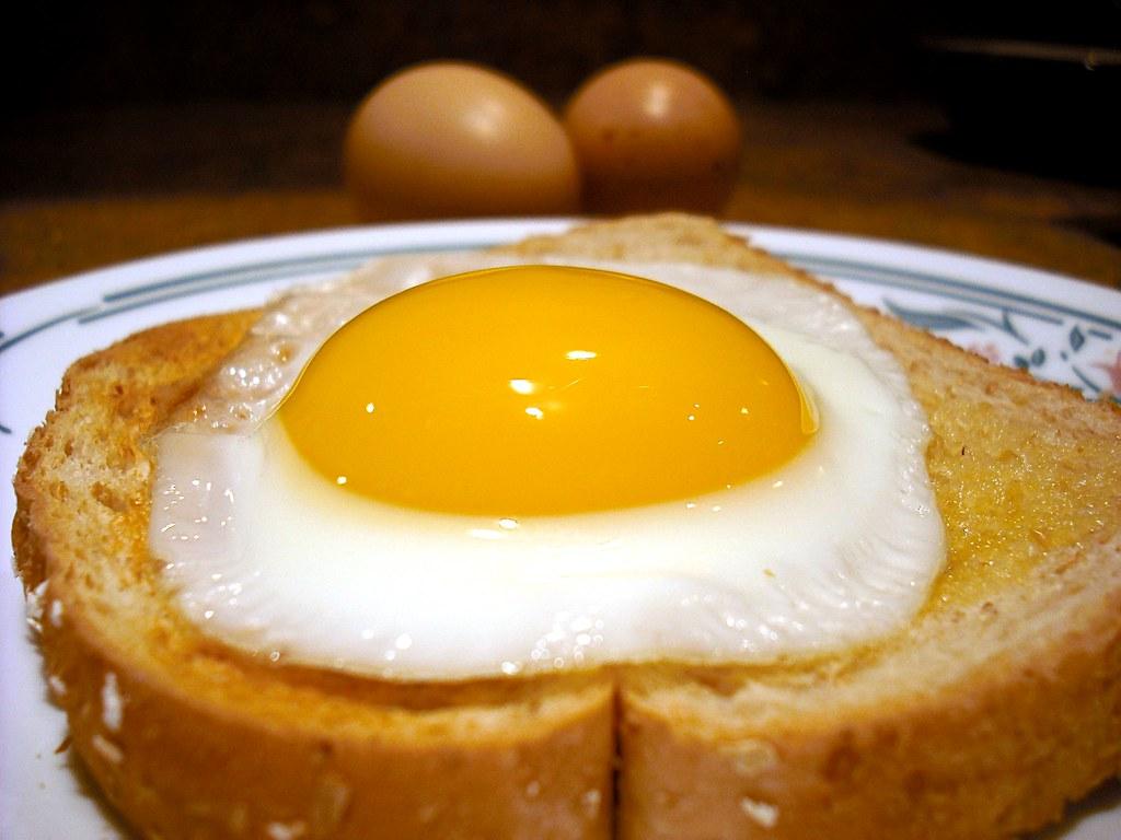 Farm Fresh Egg On Toast Farm Fresh Eggs From A Dash Of