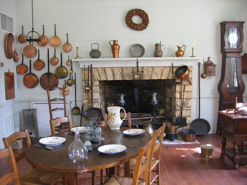 French Country Kitchen Floors