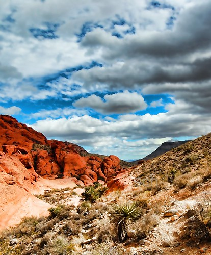 Red Rock Canyon...Looking Towards Vegas | by Scott Hudson *