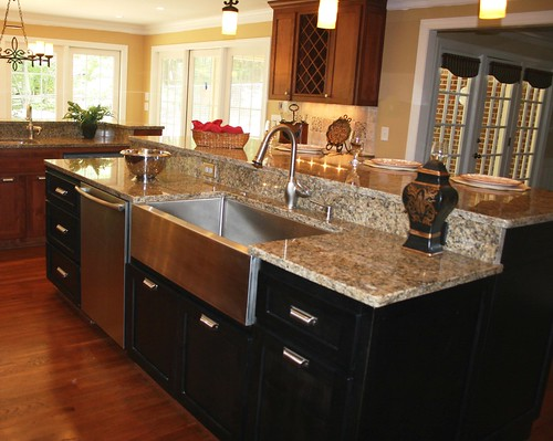After Kitchen Remodel - Island | by TrendMark Inc.