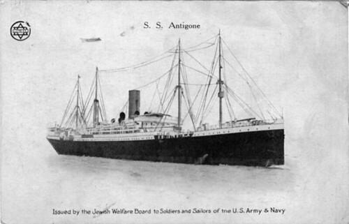 SS Antigone JWB Card