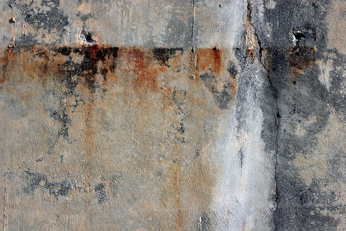 Stained Concrete Wall | by GrungeTextures
