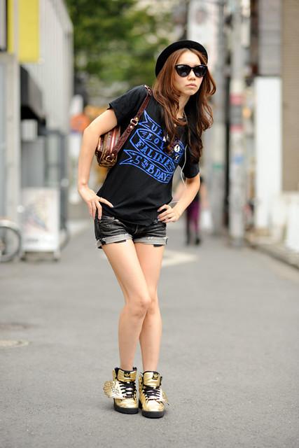 Rid Snap Japanese Street Fashion Style At Harajuku Flickr