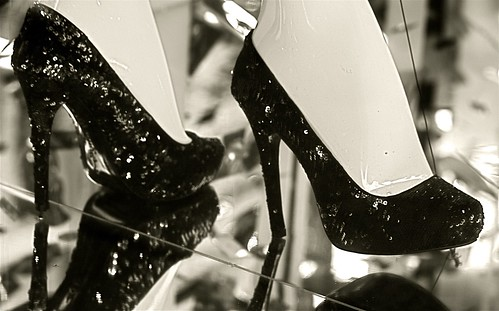 new york city high heeled shoes | by photographynatalia