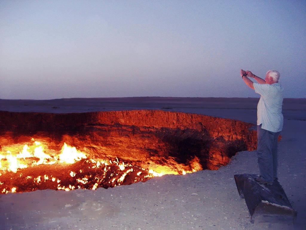 Darvaza Gas Crater Darvaza Gas Crater Karakum Desert