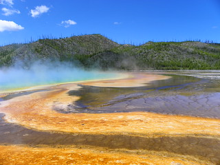 Grand Prismatic Spring | by tbirdshockeyfan