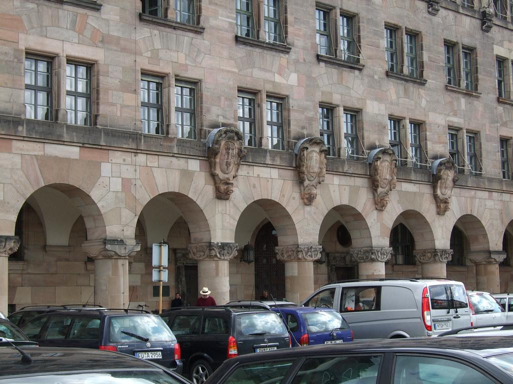 Nuremberg trial court building