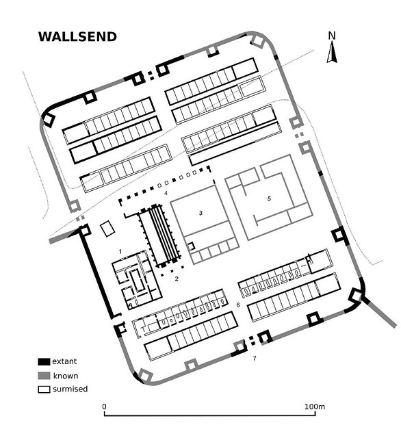 plan of Wallsend