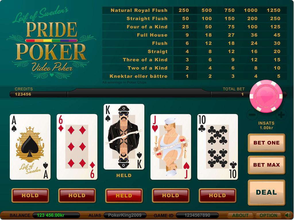Pride Video Poker