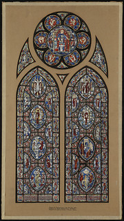 Cathedral of St. John the Divine, New York. Aisle Window in Arts Bay | by Boston Public Library