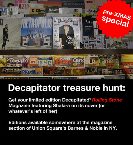 Decapitator Treasure Hunt | by the decapitator