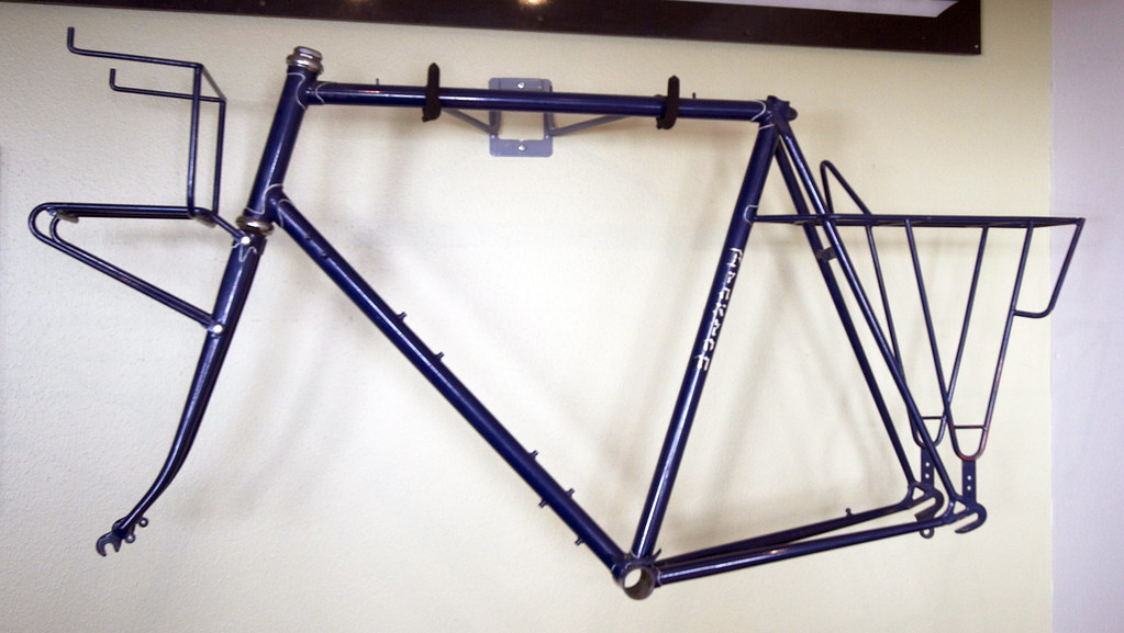 Braxton Bike Frame | This is one of the very first handmade … | Flickr