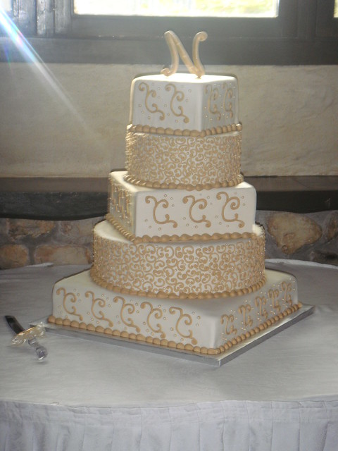 Wedding Cake Icing Ideas