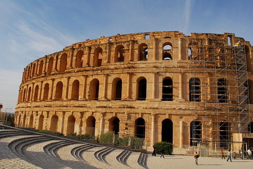 El Jem Colosseum | by goingslowly