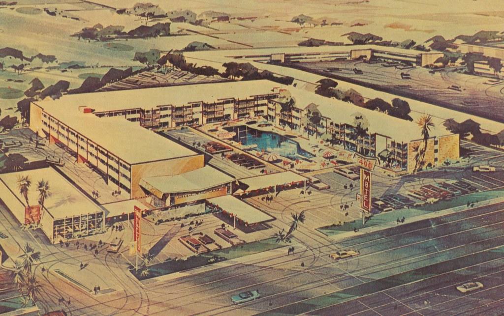 Imperial '400' Motel - Las Vegas, Nevada