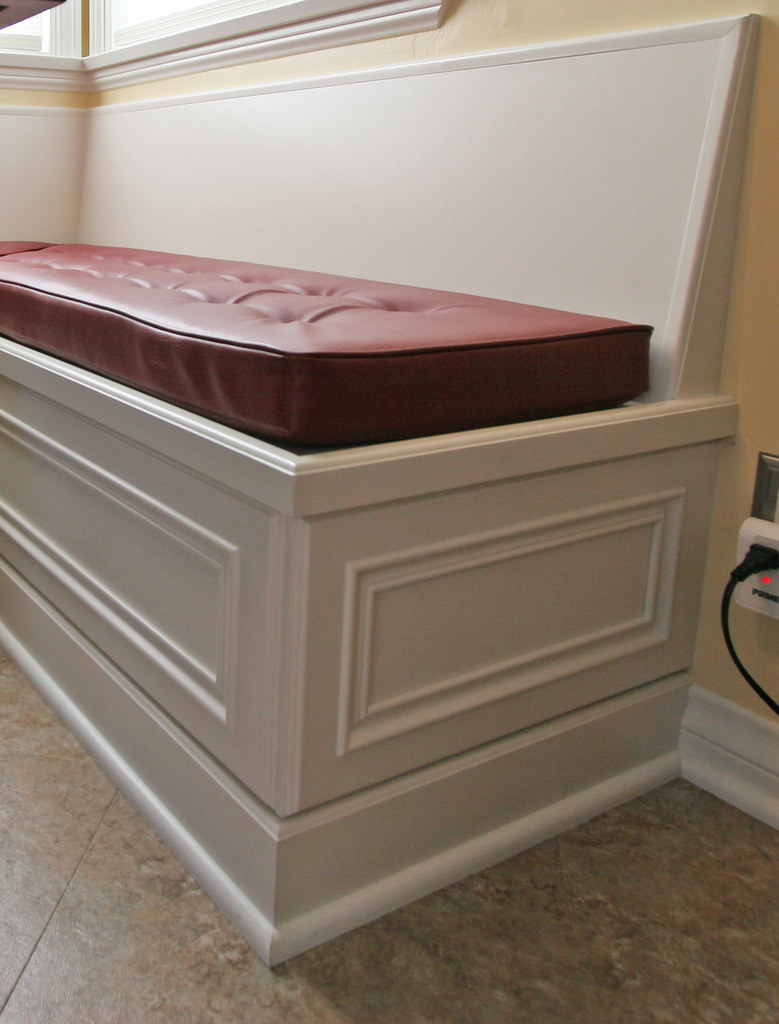 ... Rubottomcabinets Banquette With Vinyl Cushion | By Rubottomcabinets