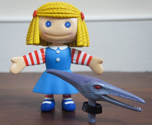 "Janie Doll Medicom Toy from ""Toy Story"". 