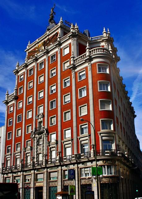 edificio seguros el ocaso 1953 calle princesa madrid