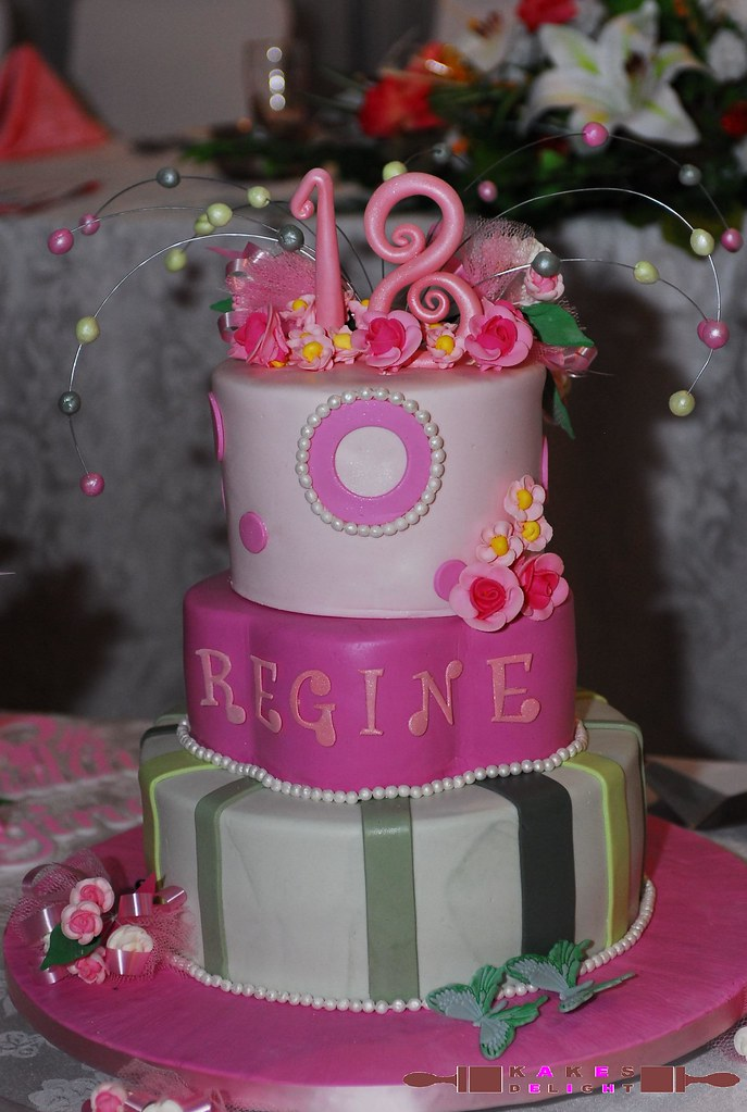 Debut Cakes Images