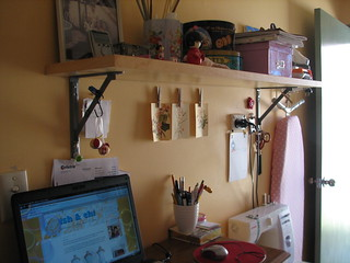 Another photo of my craft space | by sara*b