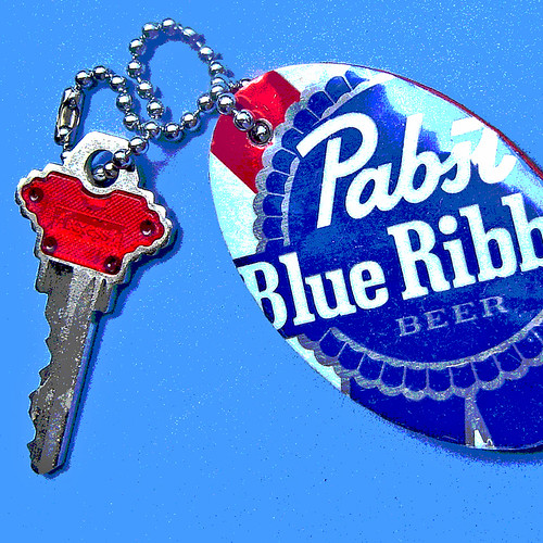 PBR Recycled Beer Can ~ 2 of 2 photos | by Urban Woodswalker