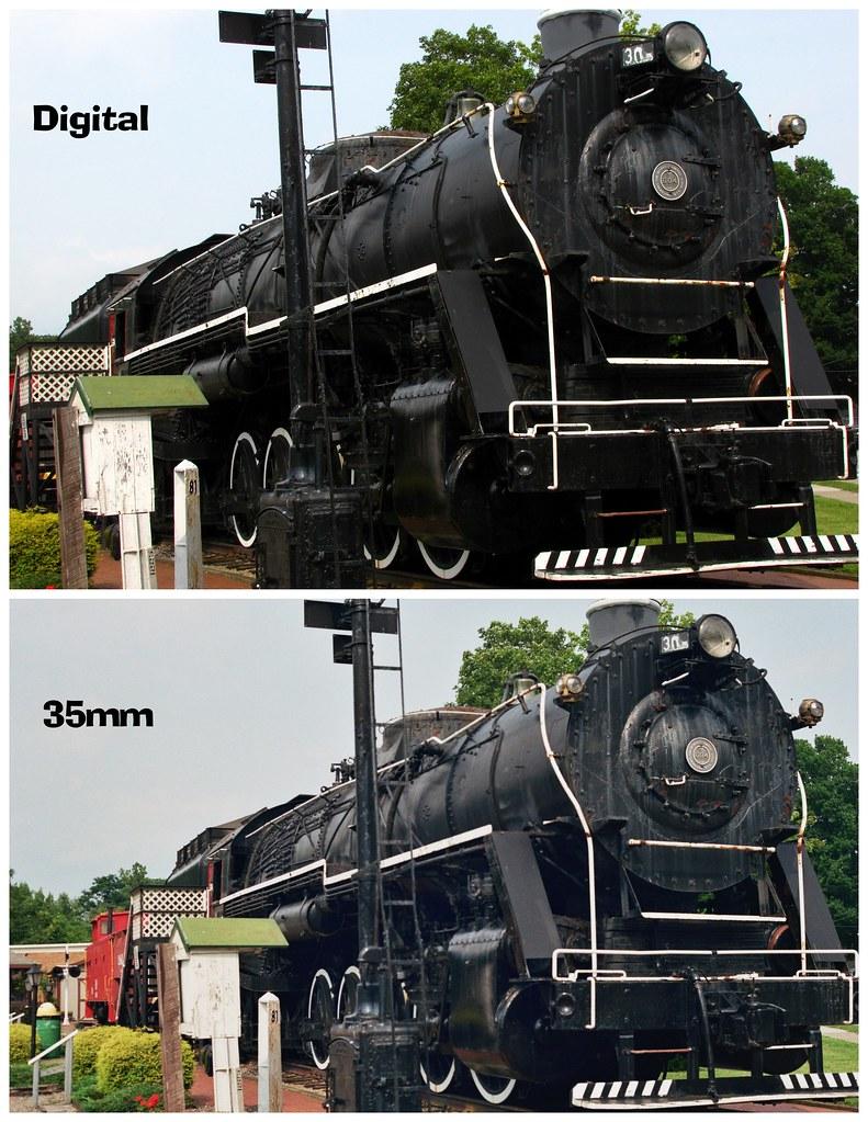 35mm vs. Digital : A Comparison | So how does a 10 megapixel… | Flickr