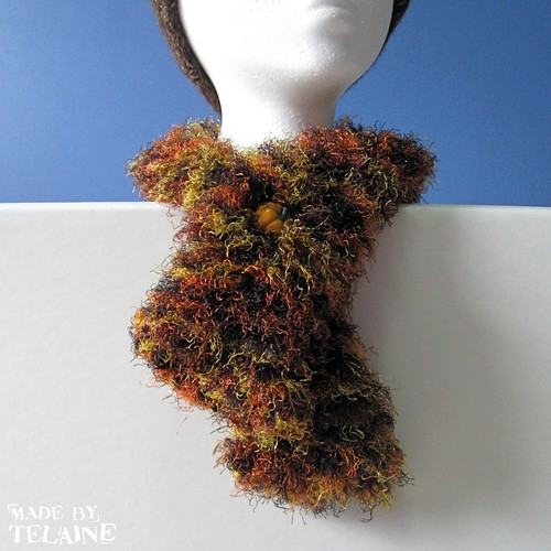 Pumpkin neck cuff | by telaine