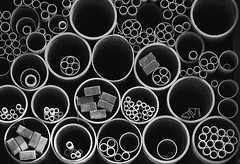Pipes (mono) | by Malcolm Fackender