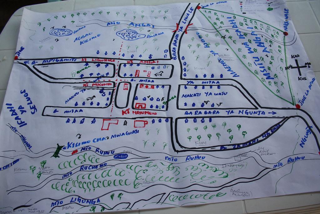 pra map  ngongowele village