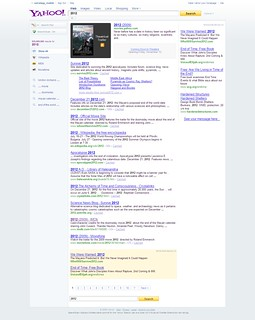 Yahoo! Search Results For 2012 - 10/06/09 | by DavidErickson
