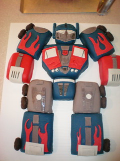 Transformers Birthday Cake 1 | by The Custom Art Project