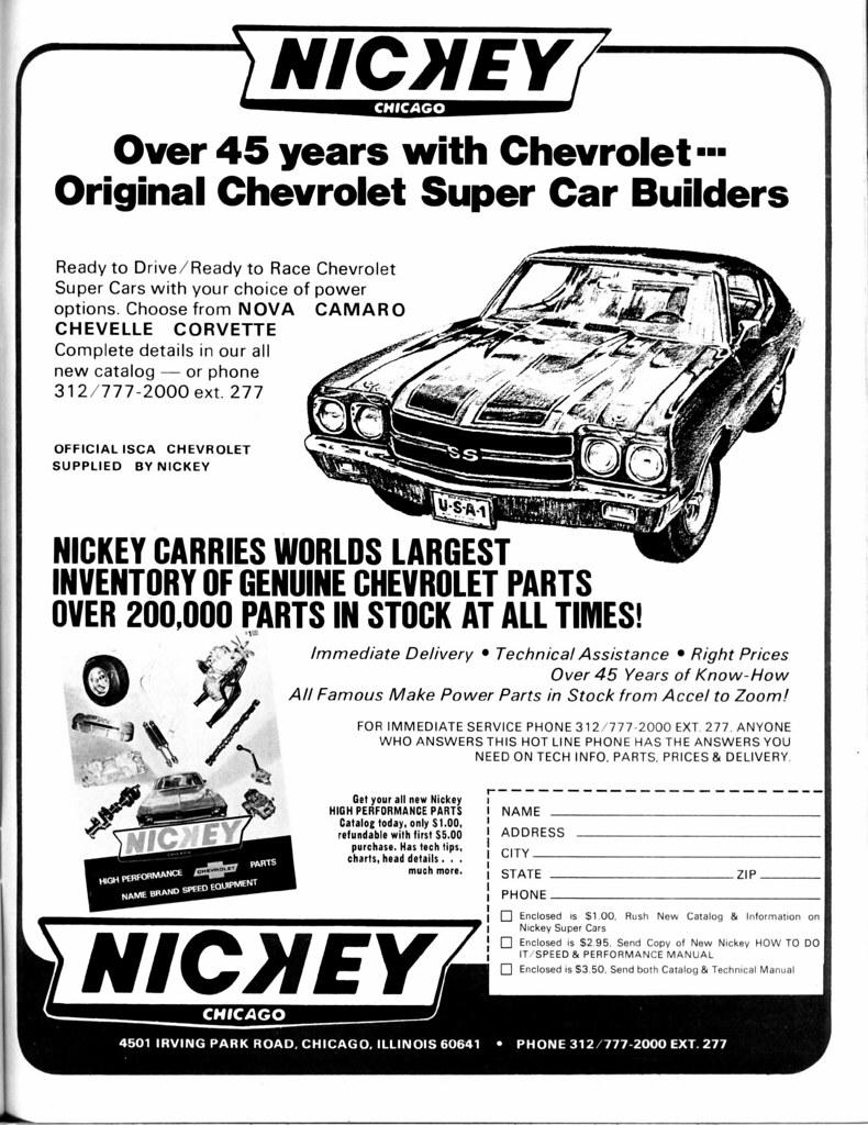 Nickey Chevrolet High Performance Parts | David Rider | Flickr