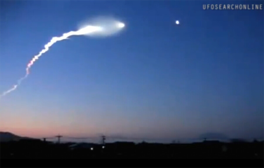 ufo_Japan | Best UFO footage ever A week before the 9.0 ...