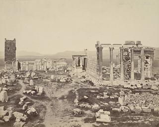 Acropolis, Propylaea and Erechtheum