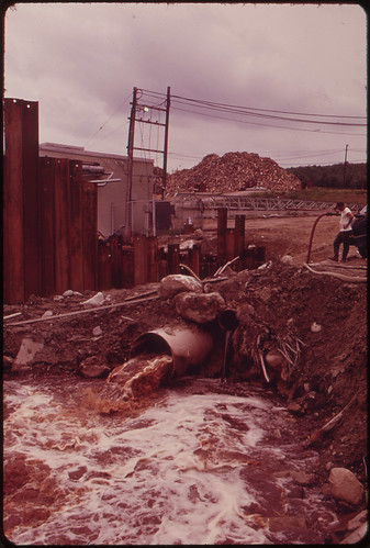 Effluent from the International Paper Company Mill at Jay ... 06/1973 | by The U.S. National Archives