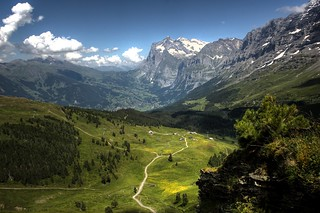Kleine Scheidegg hiking trails | by Ed Coyle Photography