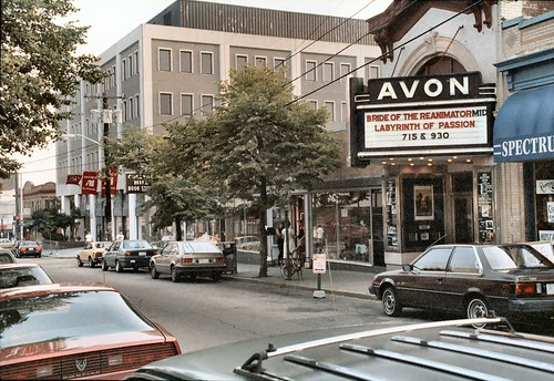 F_01A College Hill - Avon Cinema (1938) - 260 Thayer Street - Looking South-West - Where H. P. Lovecraft's, Bride of Re-Animator Premiered | by CthulhuWho1 (Will Hart)